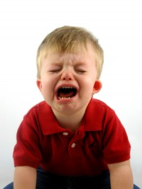 crises de colère